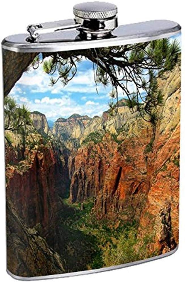 Frasco Parque Nacional Zion S1 Acero inoxidable Cadera 7 Oz ...