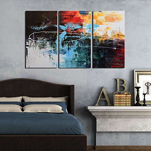 70 off artland modern 100 hand painted framed abstract for Home decor 70 off