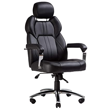 Marvelous Topsky Executive Office Chair Large Leather Chair With Adjustable Headrest High Back New Black Bralicious Painted Fabric Chair Ideas Braliciousco