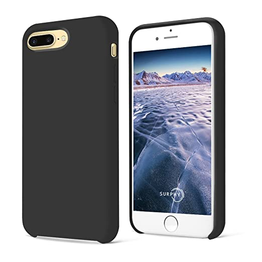 23 opinioni per iPhone 7 Plus Custodia,SURPHY Morbida Silicone Gel iPhone 7 Plus Cover