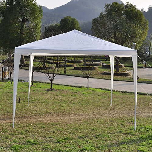 10'x10' Canopy Party Wedding Tent Heavy Duty Gazebo Pavilion Cater Event Outdoor by BCS