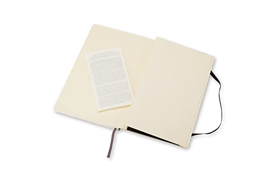 Moleskine Classic Soft Cover Notebook Plain Large 5