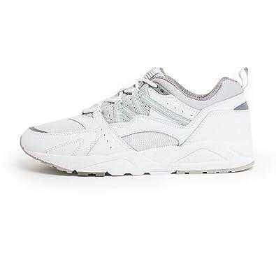 f84029b85962a Amazon.com | Karhu Men's Sneaker Fusion 2.0 in Pelle Bianca E ...