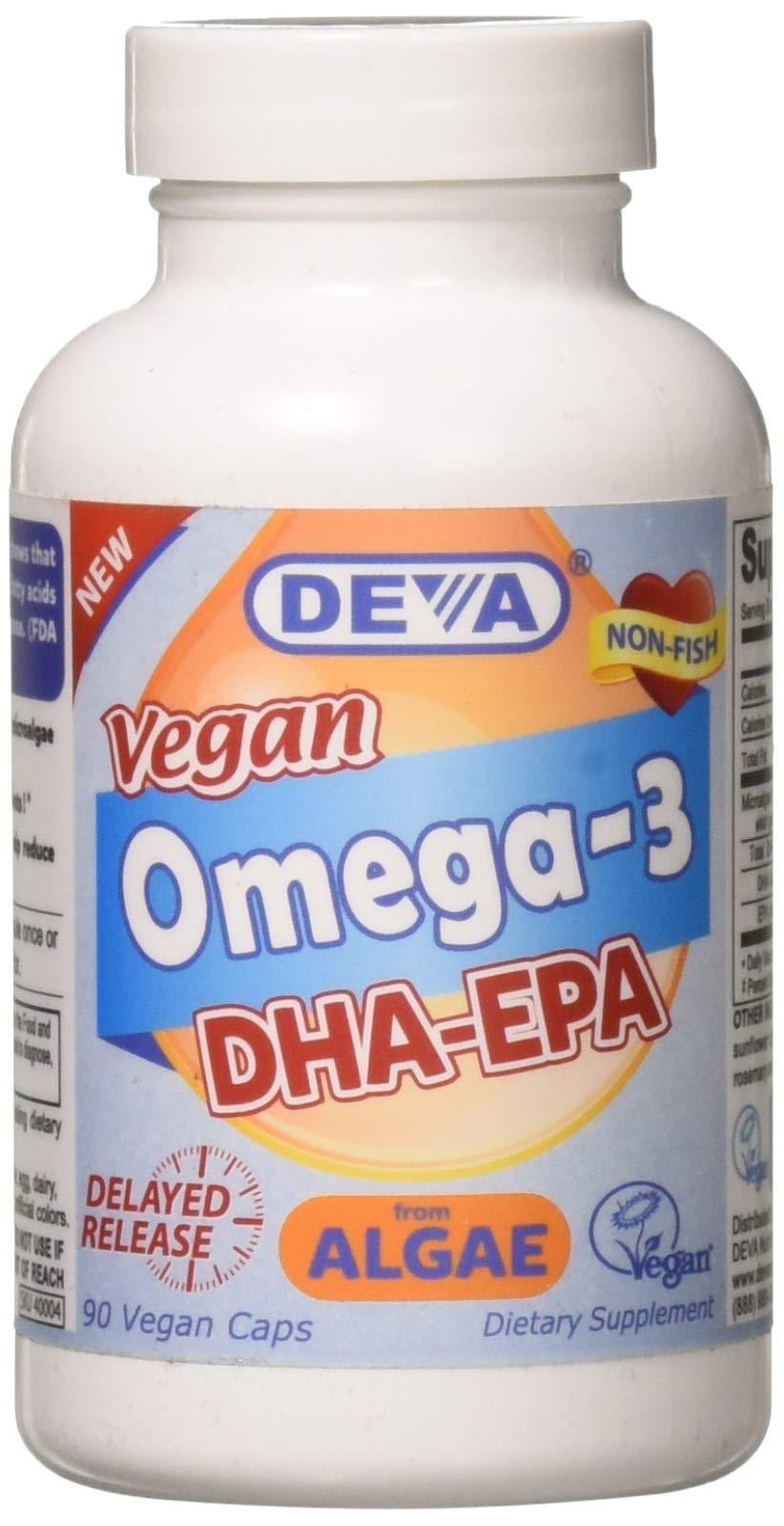 Deva Nutrition Deva Vegan DHA-EPA Delayed Release 90 Count by Deva Nutrition