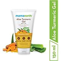 Mamaearth Aloe Vera Gel From 100% Pure Aloe Vera For Face, Skin & Hair with Turmeric & Vitamin E (150 Ml)