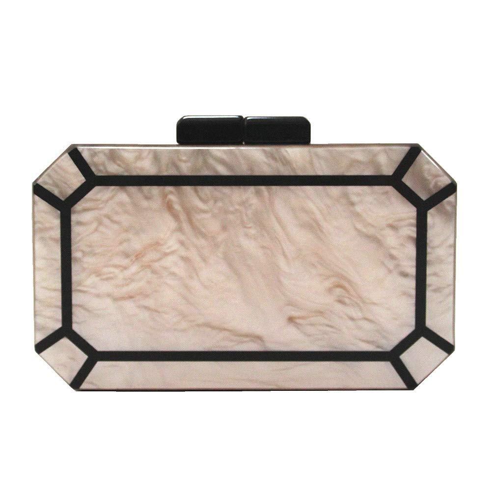 GSYDXKB Shoulder Bag Bag New Shoulder Messenger Bag Lady Pearlescent Acrylic Bag Banquet Clutch