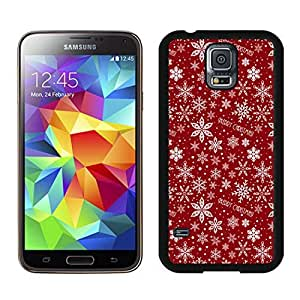 Best Buy Merry Christmas Pattern Black Samsung Galaxy S5 Case 1