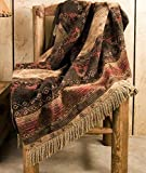Mision Del Rey Designer Southwest Throw Blanket 50''x60'' -Del Sierra