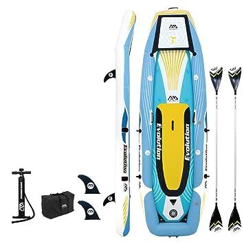 GAOXQ - Kit de surf con soporte para tabla de surf, incluye bomba de aire