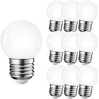 10-pack LED G45 1W E27 warm wit 3000K 230V decoratieve verlichting voor feestverlichting biertuinverlichting (warm wit)