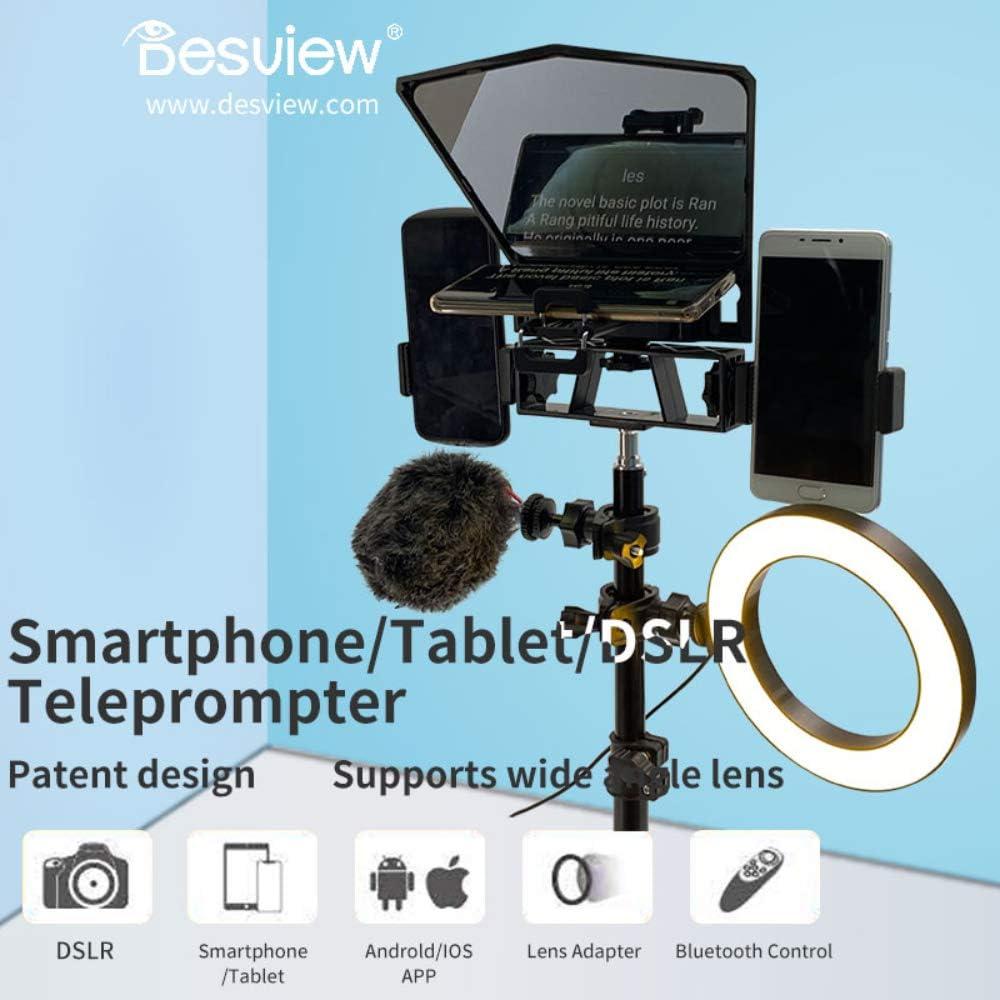 Bestview T2 Teleprompter compatible con teléfonos inteligentes ...