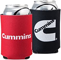 Cummins Diesel Red & Black Collapsible Beer Koozie ...