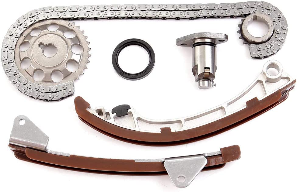 BCtimingparts Timing Chain Kit fits for 2000-2008 Toyota Chevrolet Pontiac 1.8L DOHC 1ZZFE
