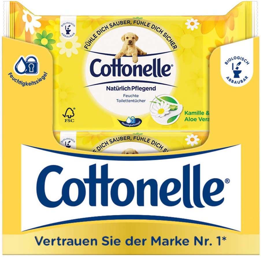 Cottonelle Moist Toilet tissues