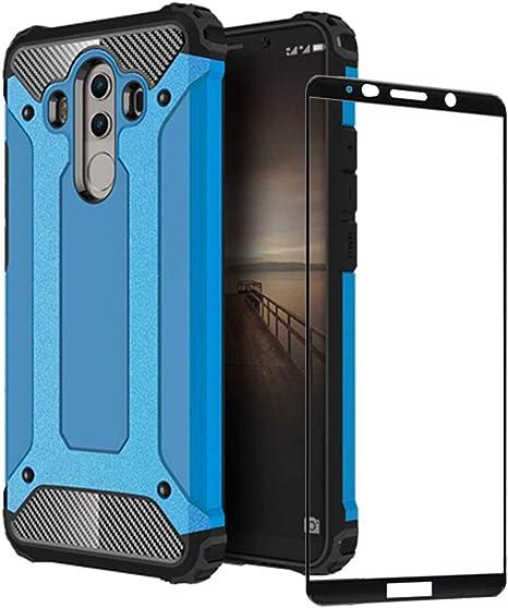 DESCHE para Funda Huawei Mate 10 Pro, Hard PC Soft TPU 2 en 1 360 ...
