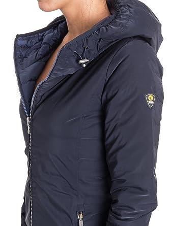 new product b0dd9 573b2 CIESSE PIUMINI Piumino Lungo Donna blu: Amazon.co.uk: Clothing