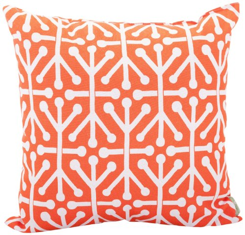 Majestic Home Goods Aruba Pillow - Dimensions - 24 in. x 10 in. x 24 in. (approx.) Perfect convenient size for all indoor and outdoor environments U.V. Treated Covers - these throw pillows uses an outdoor treated polyester and cotton cover that offers up to 1000 hours of protection Ultra Comfortable - the pillows are filled with our Super High Loft PolyFiber Fill to give them an ultra-soft cushion feel - patio, outdoor-throw-pillows, outdoor-decor - 613gnQQleHL -