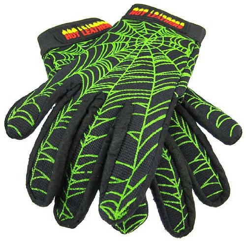 Spider Web Motorcycle Gloves Mechanics Work (Small)