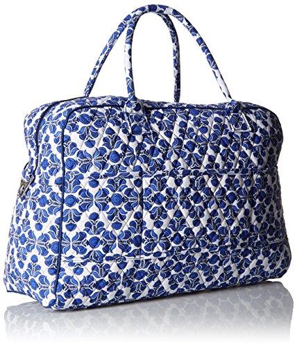 Women's Weekender, Signature Cotton, Cobalt Tile by Vera Bradley (Image #1)