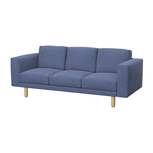 Amazon.de: Soferia - Bezug fur IKEA NORSBORG 3er-Sofa ...