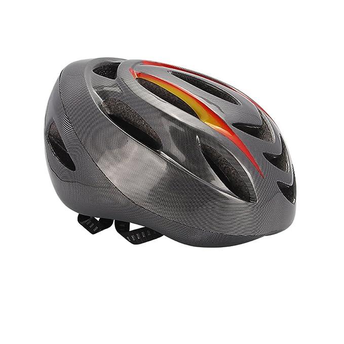 MFY&CZ Casco de bicicleta con indicador de señal de giro inteligente ...