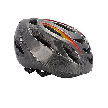 MFY&CZ Casco de bicicleta con indicador de señal de giro inteligente, casco de conducción,