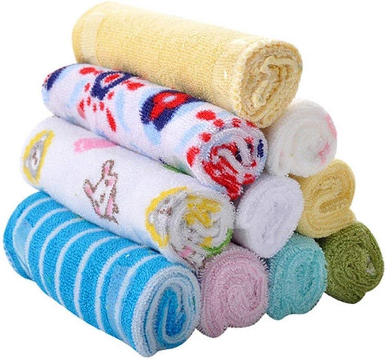 Newin Star 8 PCS suave linda del algodón del bebé toallas de baño ...