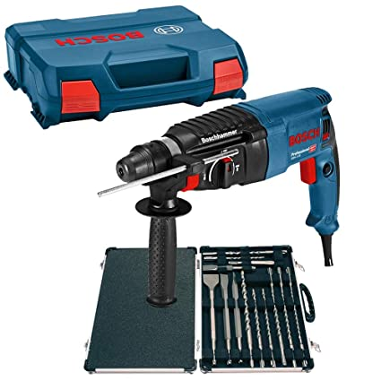Bosch GBH 2-26 SDS PLUS Rotary Hammer Drill In Carry Case 06112A3070