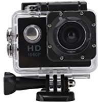 Sports Action Camera, 1080P HD Sports Action Camera 110 Degree Angle with Waterproof Camera Case for Underwater…
