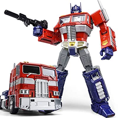 WEI JIANG Optimus Prime Oversized MPP10 Alloy G1 Action Figure 12 Inch: Toys & Games