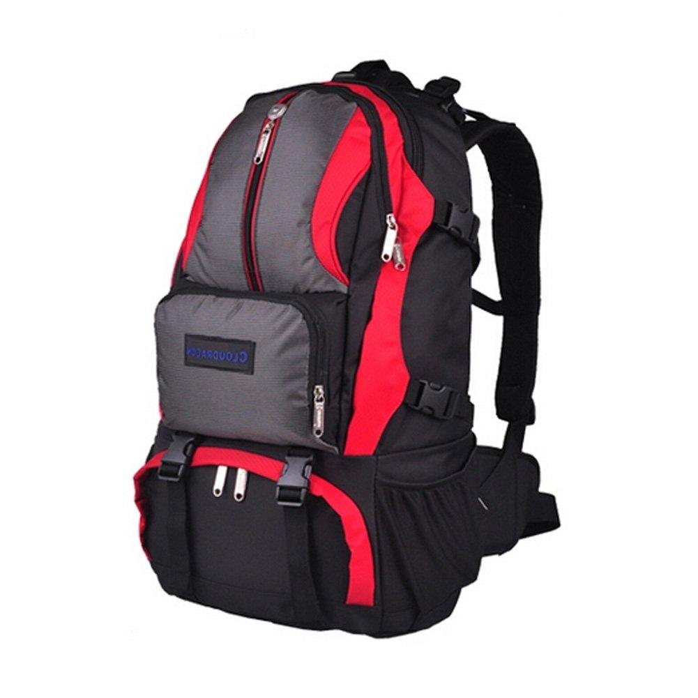スポーツアウトドアバックパックキャンプハイキング登山バッグ登山40lレッド   B00SWM5LLG