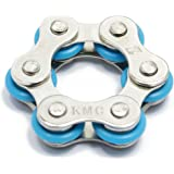 FidgetWorks Rolly Pollie Round Chain Fidget Toy (Blue)