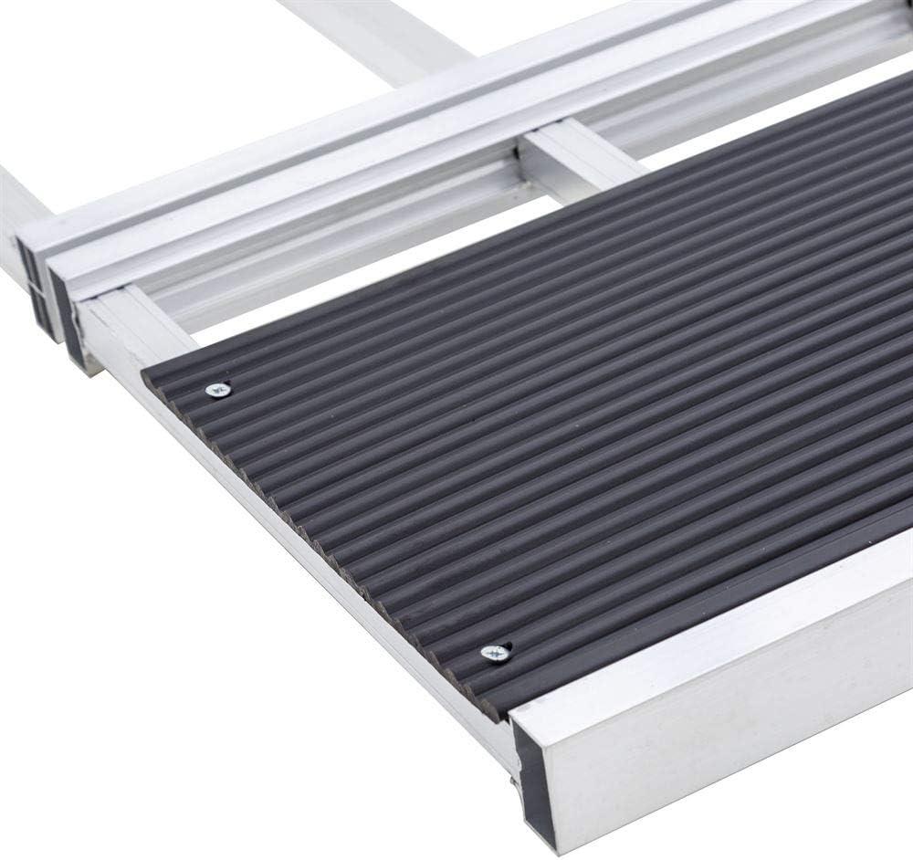 Black Ice SNO-7754-HDXW 65 x 54 Tri-Fold Snowmobile Ramp