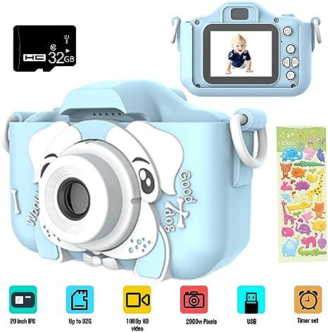 Dewanxin Camara Fotos,Camara para Niños,Cámara Fotos Niños con ...