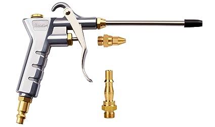 Pistola de soplado de aire Astarye Boquilla Limpiador de pistola de soplador de plumero con 1