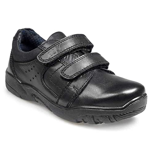 377e0917f0306 Pod George Boys Back to School Shoes in Black: Amazon.co.uk: Shoes ...