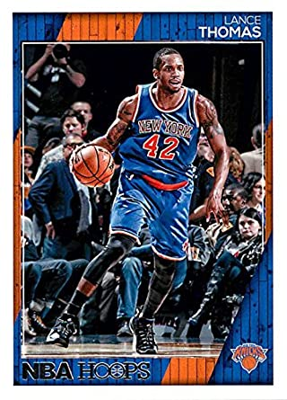 Amazon.com  2016-17 Hoops  200 Lance Thomas NM-MT Knicks ... d8e37af26