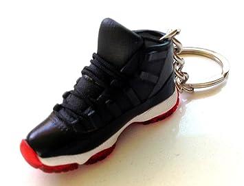 Air Jordan XI 11 Bred Negro/Rojo Zapatillas zapatos 3d ...