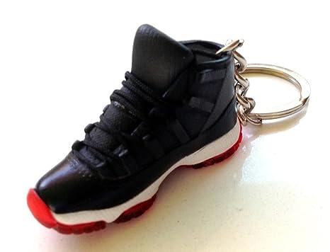 Amazon.com: Air Jordan XI 11 Bred Negro/Rojo Sneakers ...