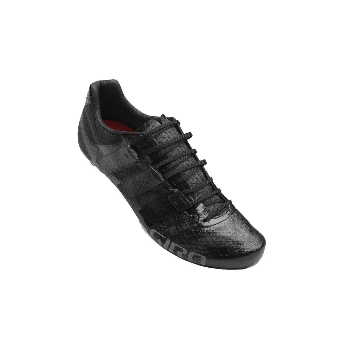 Giro Prolight Techlace サイクリングシューズ メンズ B073YBD8BS 48|ブラック ブラック 48