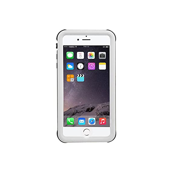 Amazon.com: Red Pepper for iPhone 7 Plus Waterproof Case Full Sealed Under Water Cover for iPhone 8 Plus Shockproof 5.5 inch (White): Cell Phones & ...