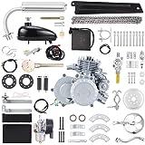 "Anbull BT80 Electric Start Bike Engine Kit, 26"" 28"" 80cc Bicycle Engine Kit,2-Stroke Gas Motorized Bike Motor with Automatic"