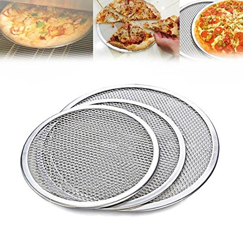 Wall of Dragon Flat Mesh Pizza Screen Oven Baking Tray Net Bakeware Cookware kitchen baking tool by Wall of Dragon (Image #2)