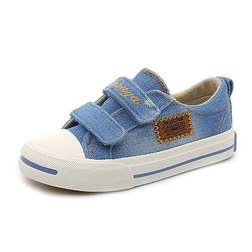 Zapatos de niños para niña Zapatos de Lona Niños Zapatillas Zapatos Casuales para niños: Amazon.es: Zapatos y complementos