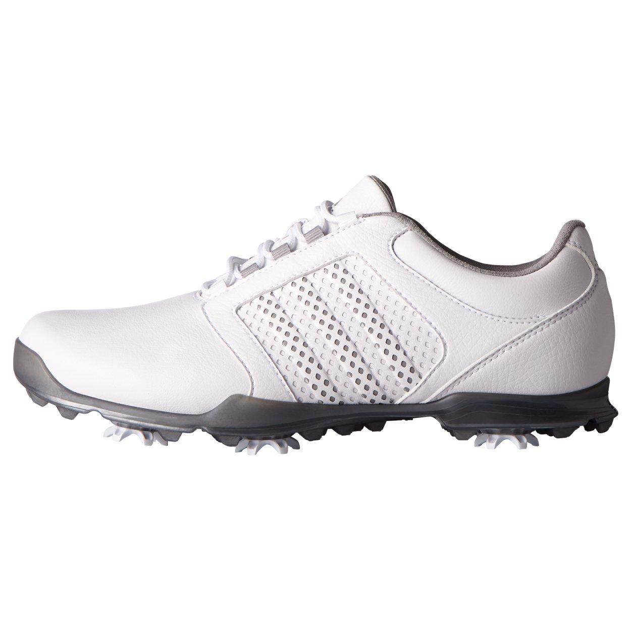 adidas Women's Adipure Tour Golf Shoe, White, 9.5 M US