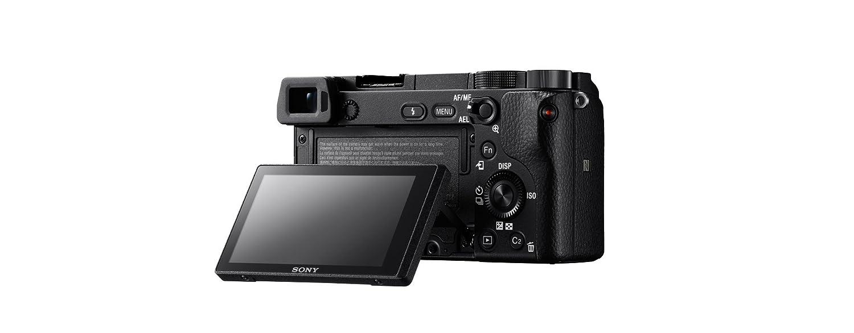Ausklappbarer Bildschirm Sony a6300