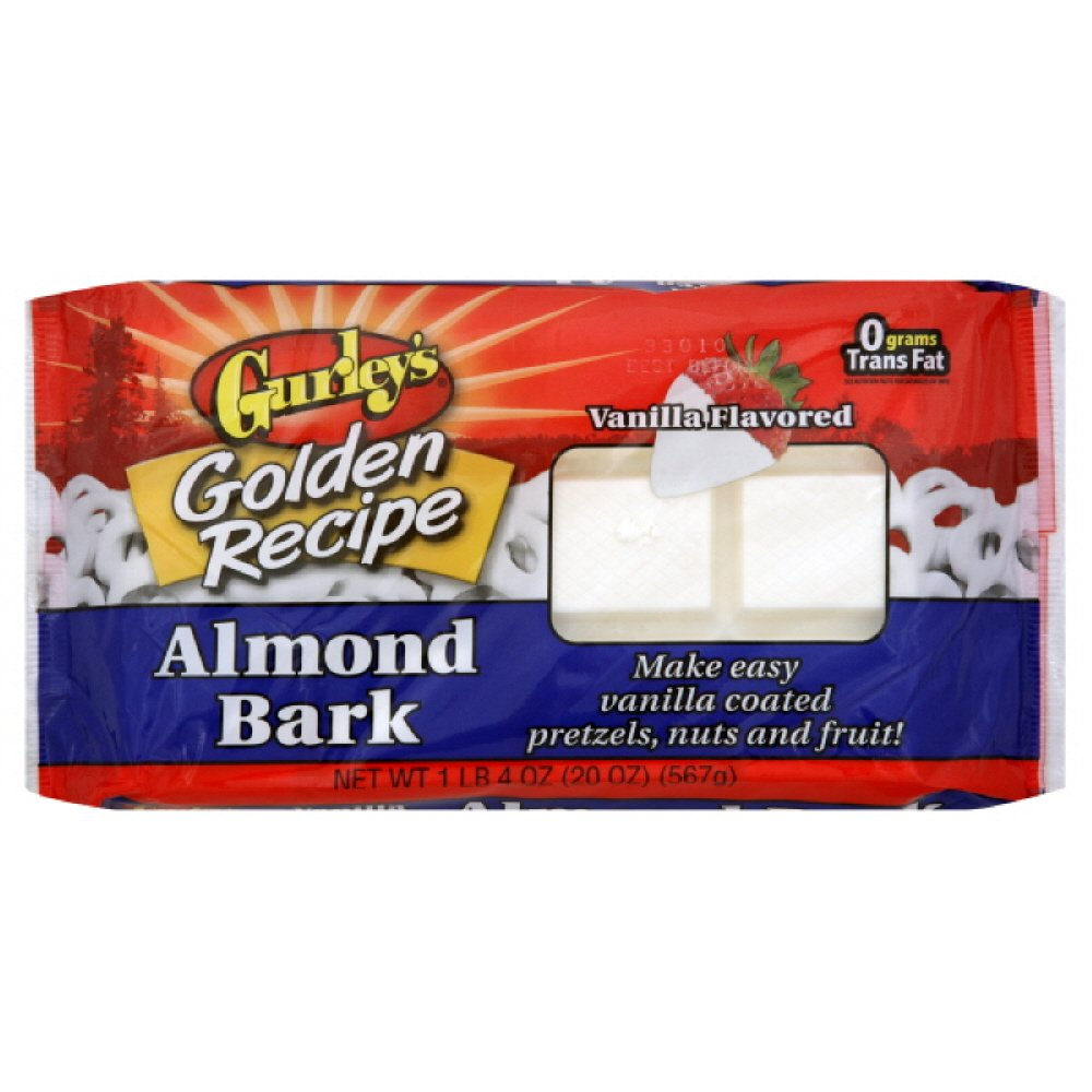 Gurley's Gurley Vanilla Almond Bark, 20-ounces (Pack of 6) by Gurley's