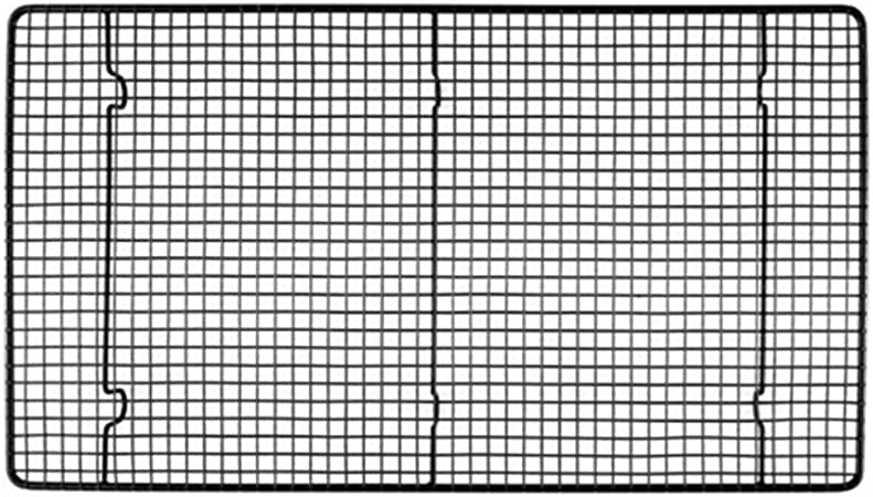 ROIY Tipo De Encriptación Grande Para Hornear Antiadherente Red De Secado Rack De Pasteles Rack De Enfriamiento 46x26cm Herramientas Para Hornear: Amazon.es: Hogar