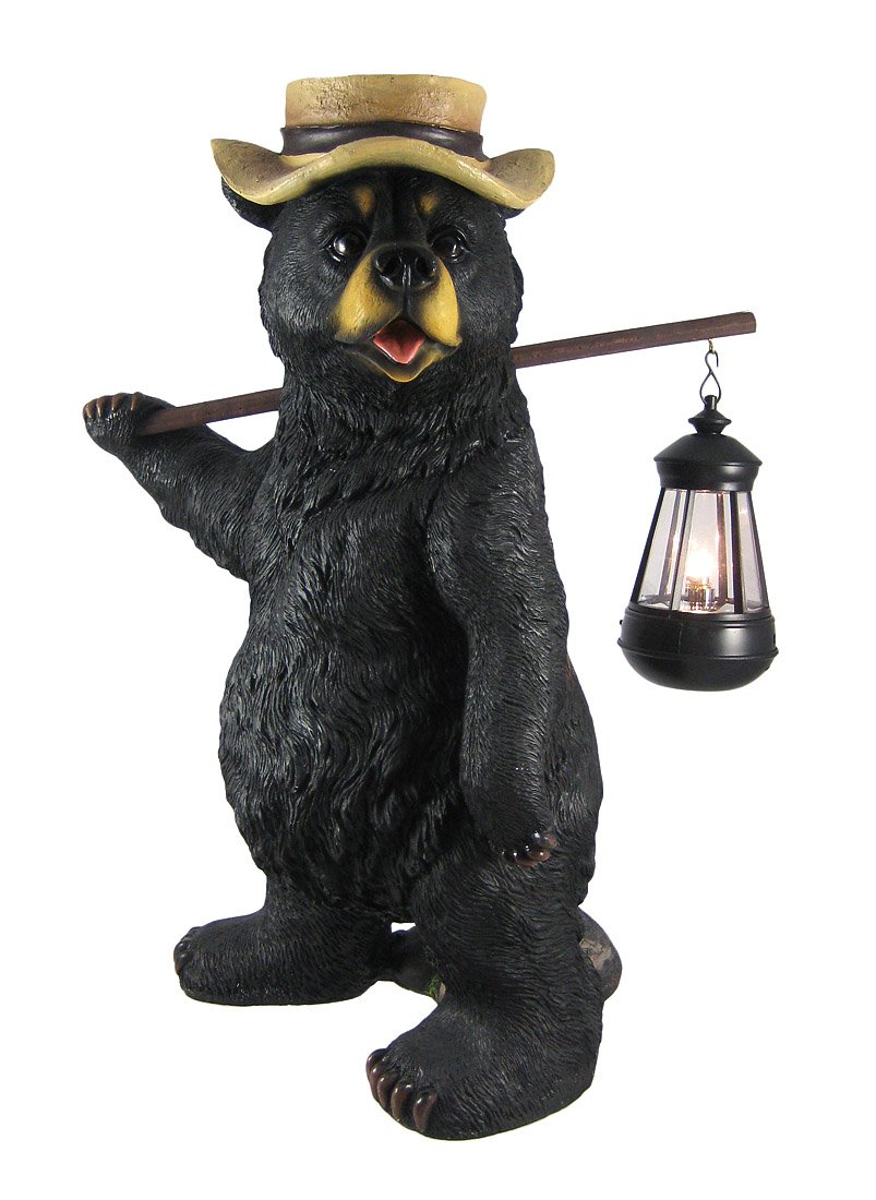 Amazon.com : Funny Country Bear W/ Lantern Statue Outdoor Figure : The  Country Bears : Garden U0026 Outdoor