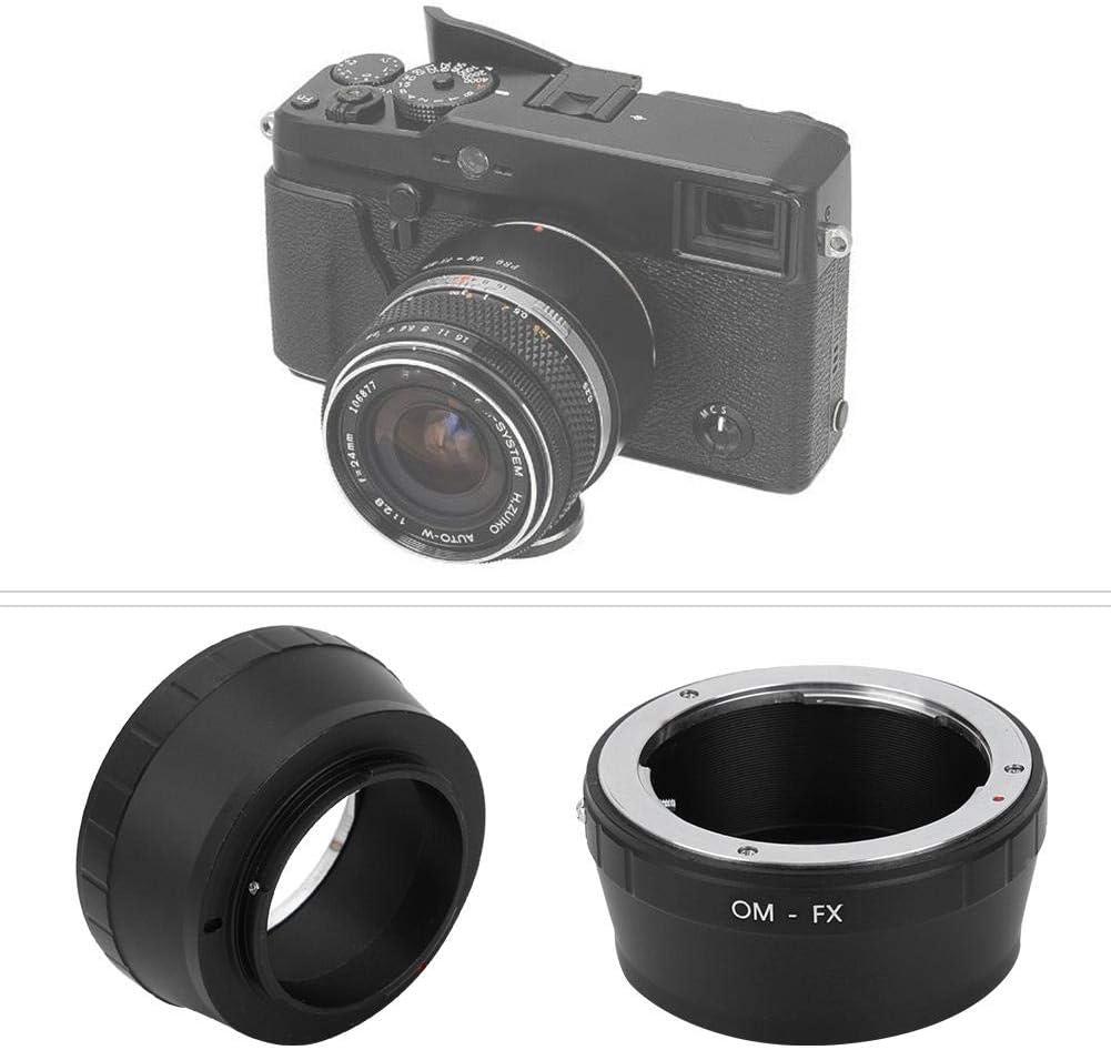 OM-FX Manual Focusing Lens Adapter Ring Lens Converter for Olympus OM Mount Lens to for Fujifilm FX Mount Camera